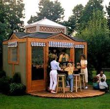 coevred bar plans built from a shed outdoor kitchen pavilion