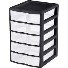 Walmart Sterilite Utility Cabinet plastic drawer organizer walmart chest of drawers