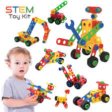Buy Stem Learning Toys Creative Construction Engineering