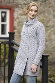 women u0027s aran coats wool coats u0026 jackets u2013 aran sweaters direct