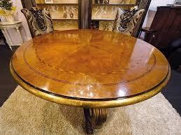 runder tisch für klassische esszimmer idfdesign