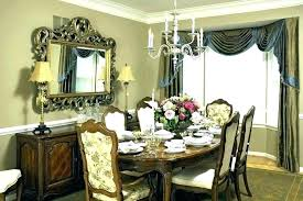 Curtains Dining Room Ideas Formal Curtain Modern For