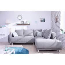 canapé grand angle minty grand angle gauche gris clair canapés convertibles salon