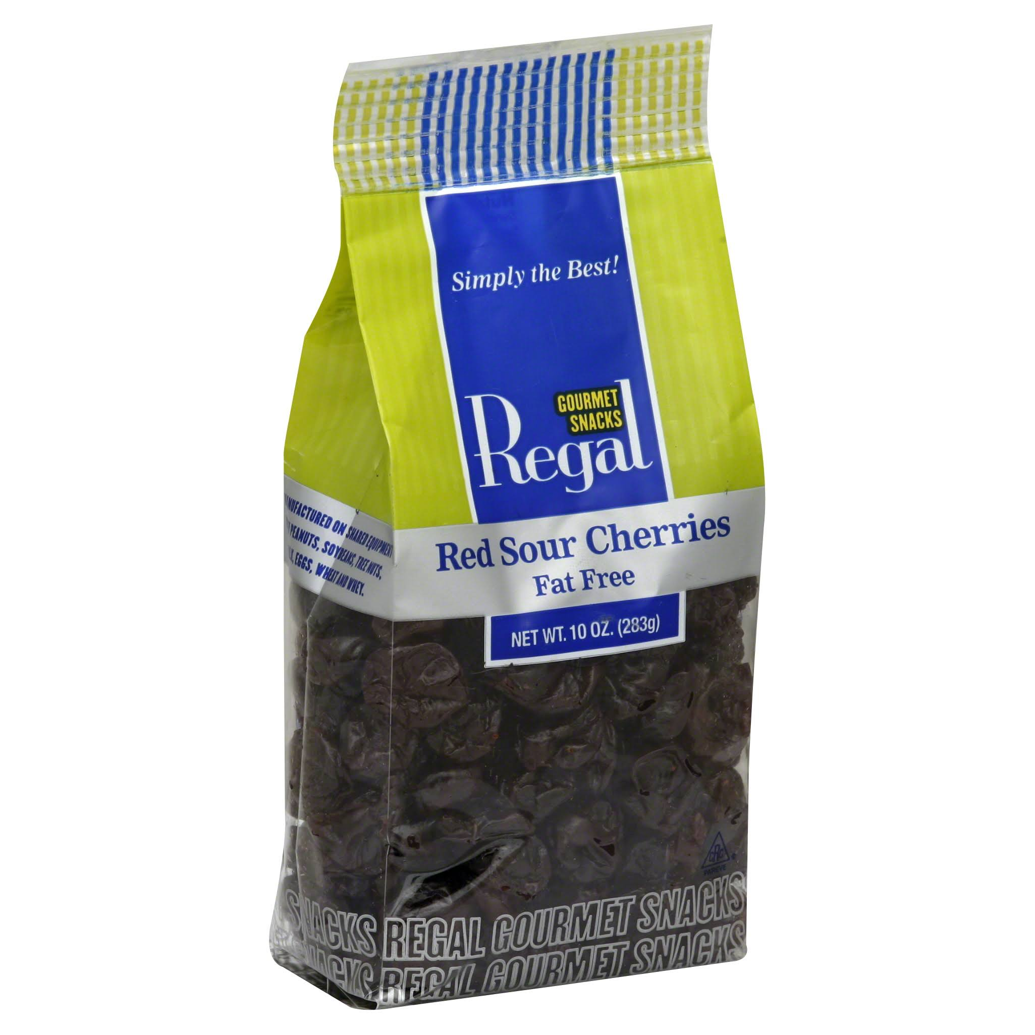 Regal Cherries, Red, Sour, Fat Free - 10 oz