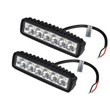 2Pcs 18W LED Work Light Bar Car Truck Boat Driving Lamp Off-road SUV ... Small 26 10w Led Offroad Auto Lamp Suv Work Light 700lm Truck Amazoncom Shanren 2pcs 4 18w Cree Bar Spot Beam 30 48w Work 5d Lens Offroad Tractor Flood Lights 12v Par 36 Rubber 5 In Round Incandescent Black 1 Bulb Safego 4pcs 18w Led Work Light Bar 4x4 Car Led Working China 7 Inch 36w Waterproof For Jeeptractor 4pcs 4800lm Ip65 For Indicators Motorcycle Closeout Spotflood Driving Lights Trucklite 8170 Signalstat Auxiliary Stud Mount Rectangular 6000k Fog Off Road Boat 10x 4inch Tri Row 4wd Alterations