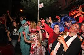 Halloween In Chicago 2017 From by Nyc Zombie Crawl