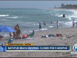bathtub reef beach reopens to beachgoers after five month closure
