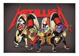 Vans Metallica Kill Em All On Behance