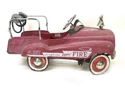 Fall Auction - Fire Truck Pedal Car | Owls Head Transportation Museum 1960s Murry Fire Truck Pedal Car Buffyscarscom Vintage Volunteer Dept No 1 By Gearbox Syot Deluxe Fire Truck Pedal Car Best Choice Products Ride On Truck Speedster Metal Kids John Deere M15 Nashville 2015 Kalee Toys From Pramcentre Uk Wendy Chidester Engine Pedal Car Pating For Sale At 1stdibs Radio Flyer Fire Dolapmagnetbandco 60sera Blue Moon Vintage Ford Gearbox Superman Awespiring Instep Baghera Red Neiman Marcus