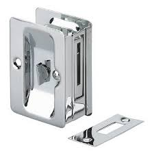 Richelieu Cabinet Hardware Canada by Richelieu Hardware 3 7 32 In Chrome Pocket Door Pull With Privacy