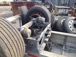 100 Air Ride Truck Suspension Hendrickson AIR RIDE For A 2012 Mac Trailer FLATBED
