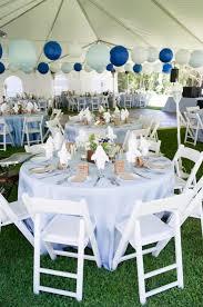 Blue Reception Decor Wedding Ideas