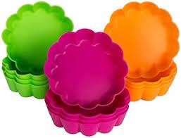 webake silikon backform mini tarteform silikon 12 stück törtchenform obsttorten quicheform für kleine kuchen tortenboden backblech φ 8cm