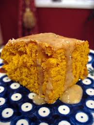 Cake Mix And Pumpkin Puree Muffins by Two Ingredients Pumpkin Cake With Apple Cider Glaze Big Red
