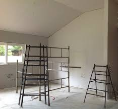 Ceiling Joist Spacing For Gyprock by Installing Plasterboard Walls And Insulation Build