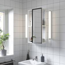 enhet spiegelschrank weiß 40x17x75 cm