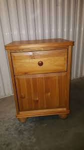 Kent Coffey Dresser The Pilot by Nightstand Ikea Pine One Drawer And Cabinet In Lic Queens