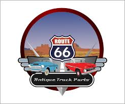 100 Vintage Truck Parts It Company Logo Design For Route 66 Antique By SS