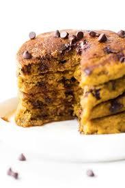 Pumpkin Pancakes With Gluten Free Bisquick by Fluffy Flourless Pumpkin Pancakes Vegan Gluten Free Sugar Free