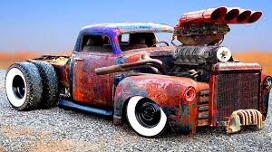 100 Rat Rod Trucks Pictures CRAZIEST And POWERFUL CARS TRUCKS Detroit Diesel CUSTOM HOT