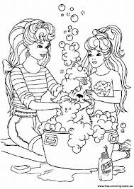 Elegant Barbie Coloring Pages Online Free 57 With Additional Kids
