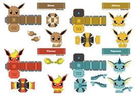 Pokemon Paper Crafts Craft Get Ideas