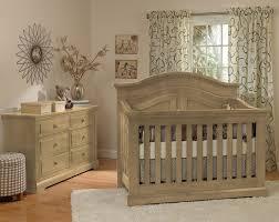 munire by heritage chatham 2 piece nursery set in driftwood crib
