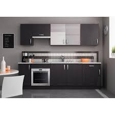 meuble cuisine cdiscount meuble de cuisine avec plan de travail pas cher maison design