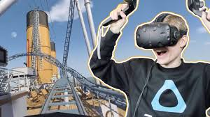 titanic roller coaster in virtual reality no limits 2 vr