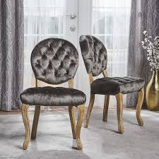 Amazon.com - Bushwood Tufted Velvet Dining Chairs | Elegant Dining ... True Vintage Hooker Fniture Beautiful Gray Living Room Ideas Corinthian Colonist Ac932b Accent Chair With Contrast Fabric Great Ding Nice Ding Room Sets Fancy Chairs Drawing Fniture Elegant Living Sofa Tropical Designtropical Design 47 36 Elegant Rooms That Are Richly Furnished Decorated 3pc Traditional Sofa Hot Sectionals French Decor Andrew Twort Photo Shing Luxury Turri Italian Blanche Coaster Carone Contemporary Glam Set Upholstered