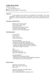 Example Resumes For Jobs Target Resume Sample Targeted Job Application Seekers In Dubai