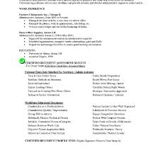 Resume Objective Examples For Management Position Work Objectives Sample Inspiring Template On Example Section Obj