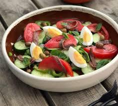 recette cuisine nicoise la recette de la salade niçoise laurent mariotte