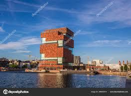 100 Where Is Antwerp Located Belgium May 2019 Museum Aan Stroom River Scheldt