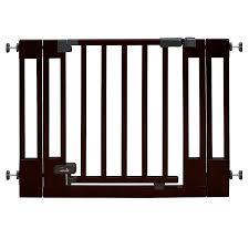 amazon com summer infant multi use deluxe wood walk thru gate
