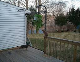 cats on deck deck enclosures for cats deck design and ideas