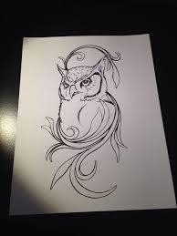 Drawn Owl Love Drawing 13