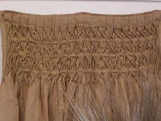 Smocked Burlap Curtain Panels by Burlap Curtain How To Smock Curtains With Thistlewood Farms