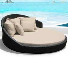Outdoor Round Double Bed Set I ORDER NOW I FREE Shipping