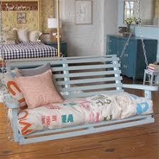 Adorable V day Gift Indoor Porch Swing And The Cushions Are