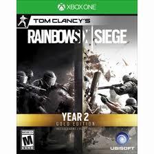 siege xbox one tom clancy s rainbow six siege gold year 2 edition includes