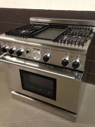 Thermador Pdr364gdzs Dual Fuel Range 36 Stove Pro Grand 4 Burners With Regard To Awesome House Thermador Gas Cooktop With Griddle Remodel