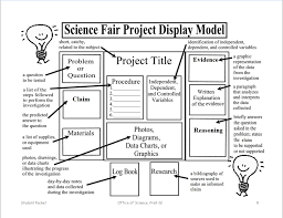 Free Templates Science Fair Board Diagram Large Size