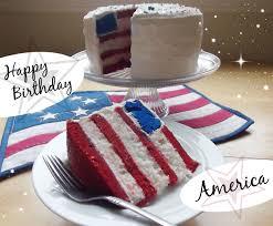 Happy Birthday American Flag Cake Recipe