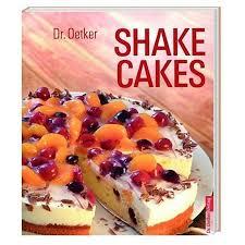 dr oetker shake cakes