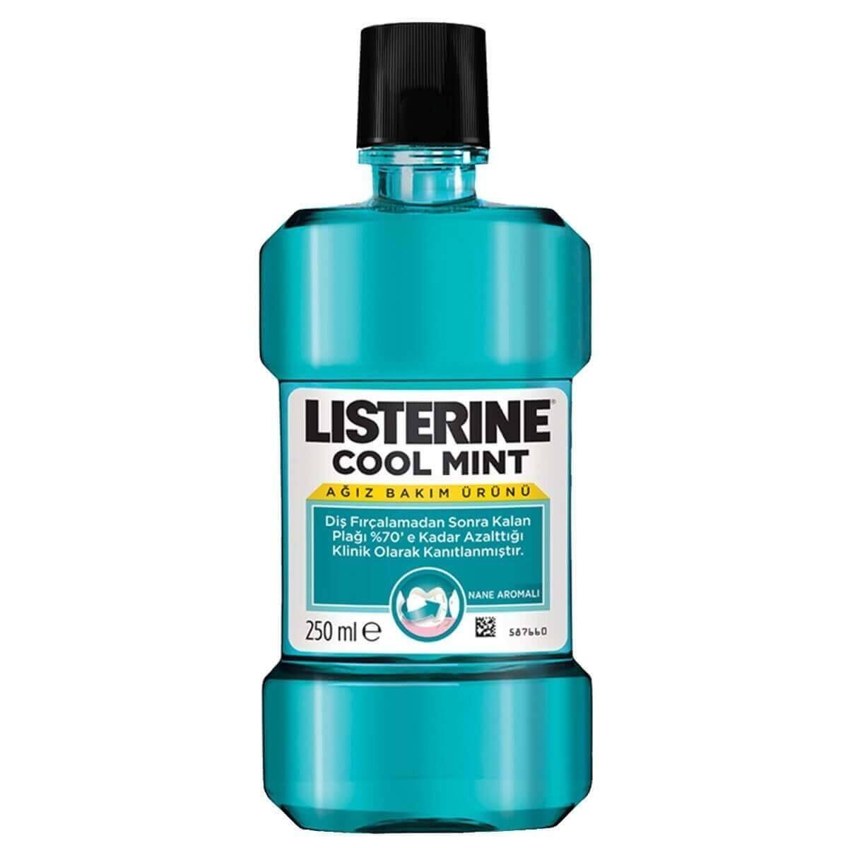 Listerine Mouthwash - Cool Mint, 250ml