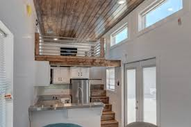 100 Tiny Loft Luxurious Tiny House Squeezes In A Loft With Space To Stand