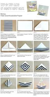 How To Make An Origami Sailor Hat Lovely Step By Instructions A Diy Paper