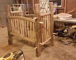 free wood baby crib plans blueprints and woodworking designs