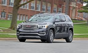 2017 GMC Acadia V-6 FWD Test | Review | Car And Driver Gmc Acadia Jryseinerbuickgmcsouthjordan Pinterest Preowned 2012 Arcadia Suvsedan Near Milwaukee 80374 Badger 7 Things You Need To Know About The 2017 Lease Deals Prices Cicero Ny Used Limited Fwd 4dr At Alm Gwinnett Serving 2018 Chevrolet Traverse 3 Gmc Redesign Wadena New Vehicles For Sale Filegmc Denali 05062011jpg Wikimedia Commons Indepth Model Review Car And Driver Pros Cons Truedelta 2013 Information Photos Zombiedrive Gmcs At4 Treatment Will Extend The Canyon Yukon